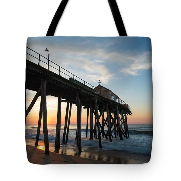 Pier Side Tote Bag