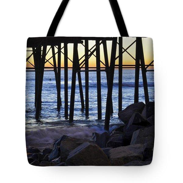 Pier Through  Tote Bag