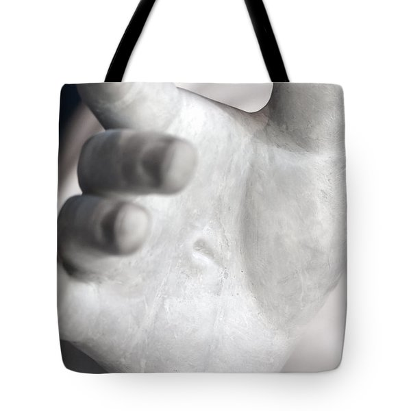 Pierced Tote Bag