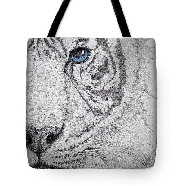 Piercing II Tote Bag by Mayhem Mediums