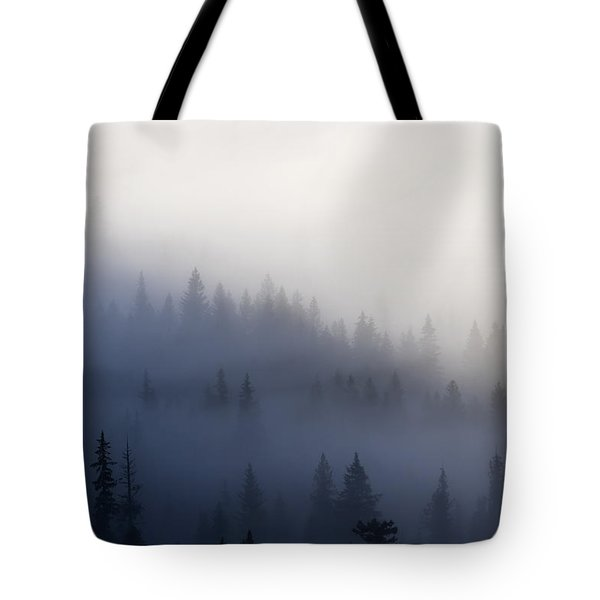 Piercing The Veil Tote Bag by Mike  Dawson