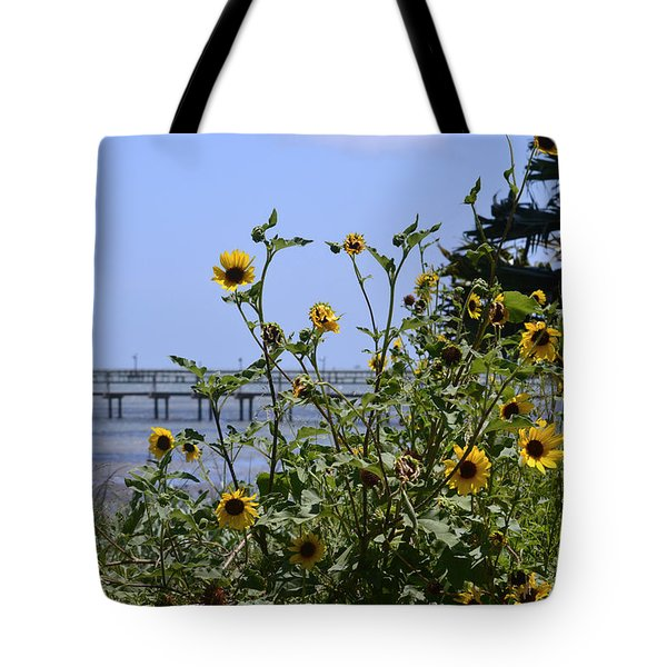 Piering Through Tote Bag by Leticia Latocki
