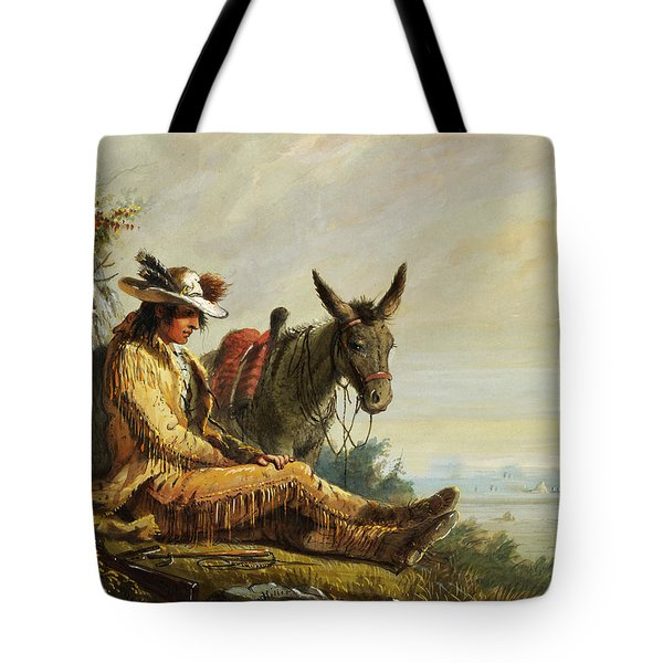 Pierre Tote Bag by Alfred Jacob Miller