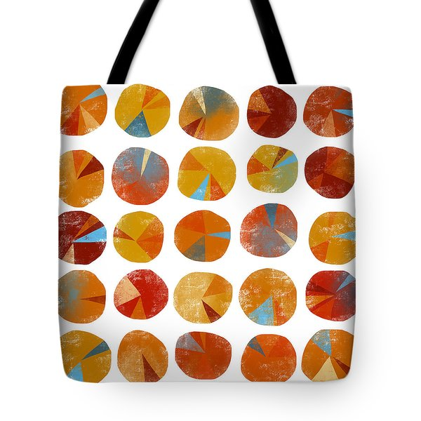Pies Are Squared Tote Bag by Nic Squirrell