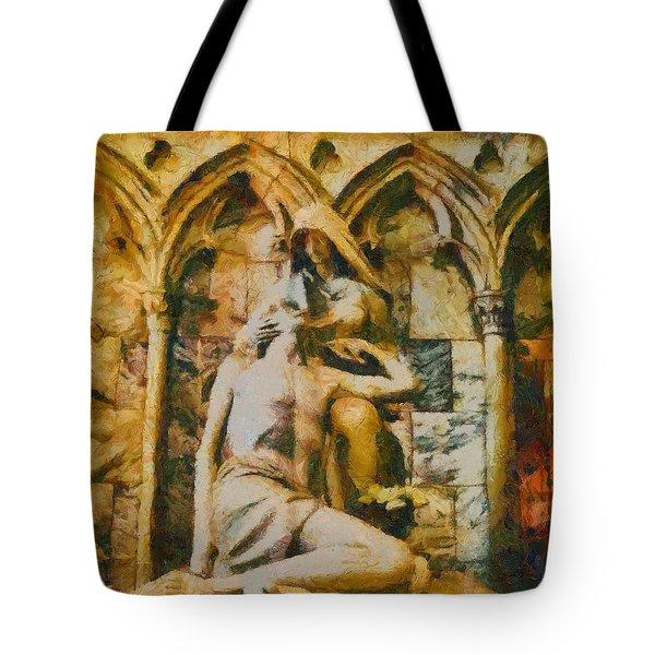 Pieta Masterpiece Tote Bag by Dan Sproul