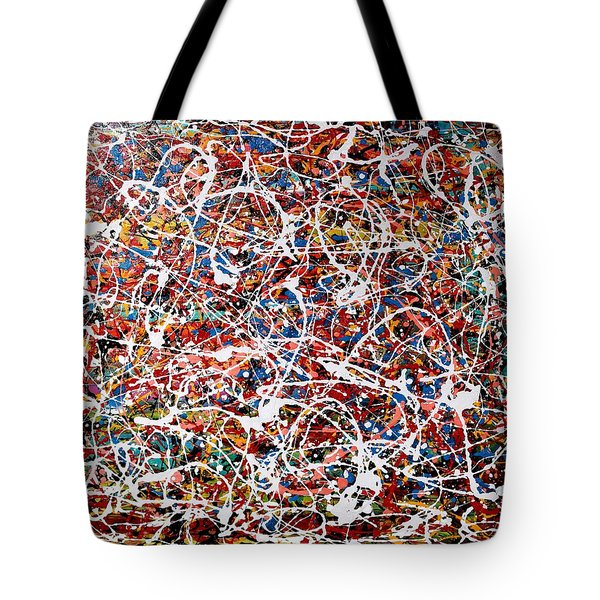 Pietyz Pollock - In Search Of Love Tote Bag