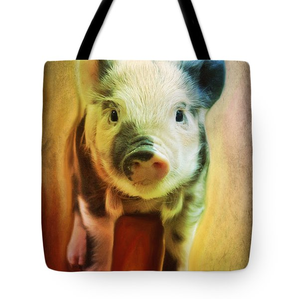 Pig Is Beautiful Tote Bag