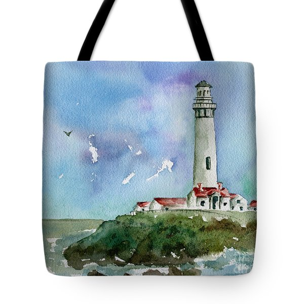 Pigeon Point Lighthouse Tote Bag