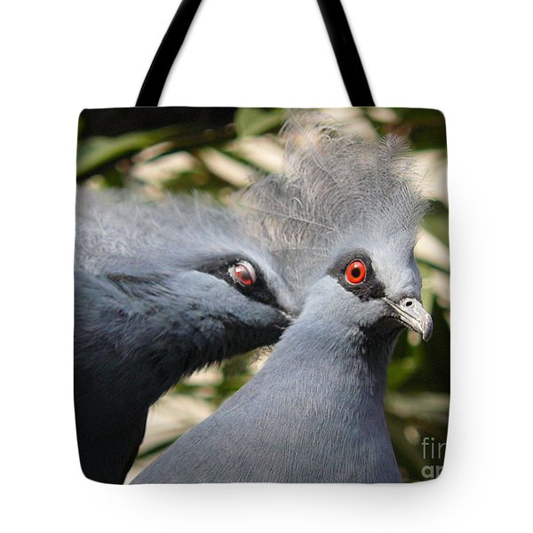 Pigeons Tote Bag by Jane Ford