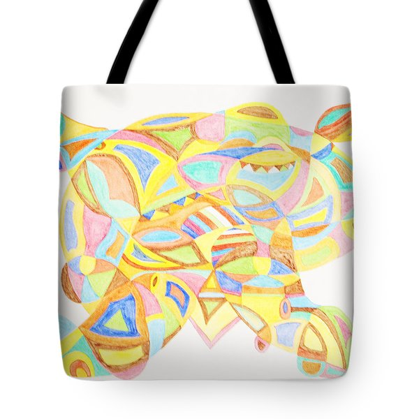 Pigs Can Fly Tote Bag by Stormm Bradshaw