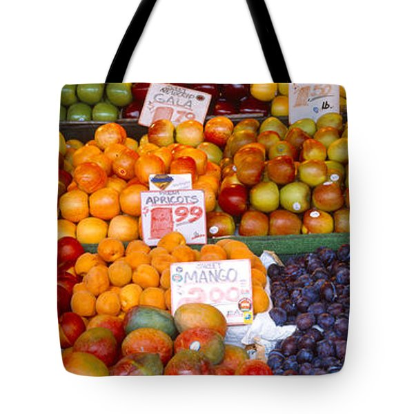 Pike Place Market Seattle Wa Usa Tote Bag by Panoramic Images