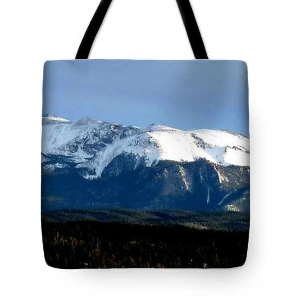 Pikes Peak Panorama Tote Bag