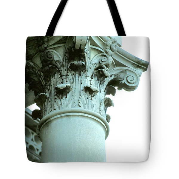 Pilar Of Strength  Tote Bag by Jon Neidert