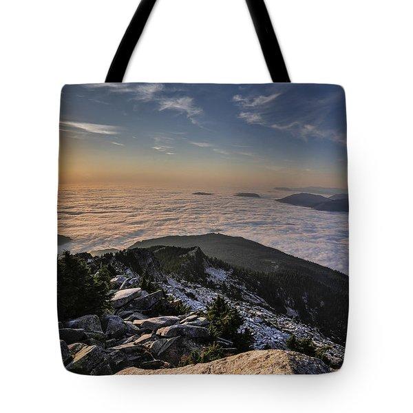 Pilchuck West  Tote Bag