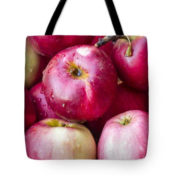 Pile Of Apples Tote Bag