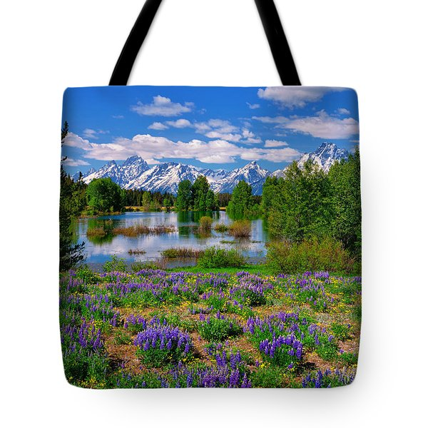 Pilgrim Creek Wildflowers Tote Bag