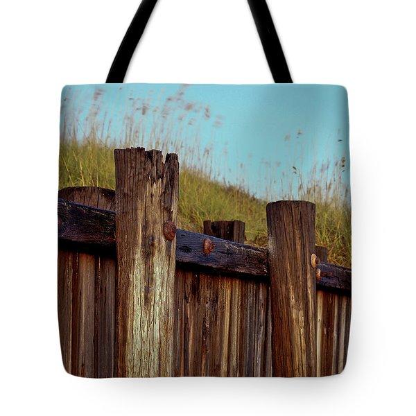 Pilings Folly Beach Sc Tote Bag