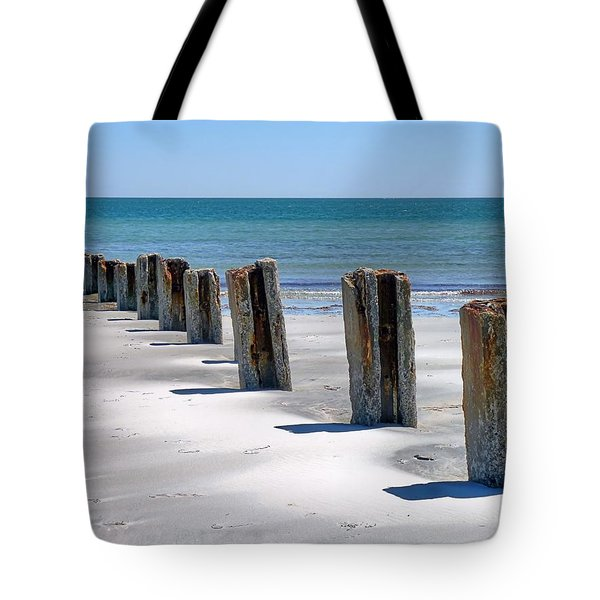 Pilings Tote Bag