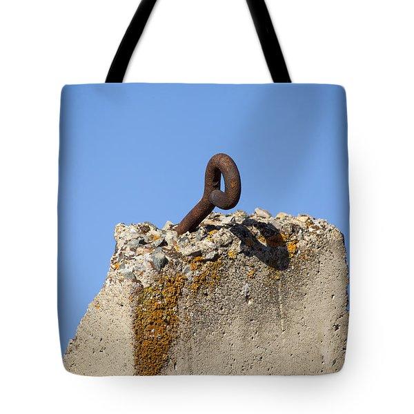 Pillar And Sky Tote Bag by Fran Riley