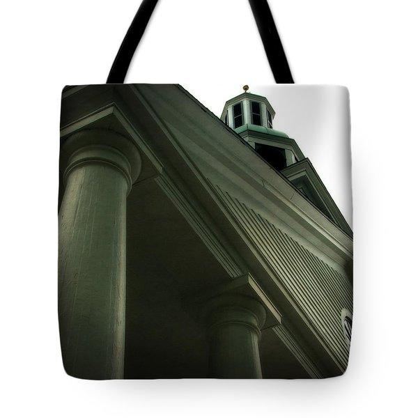 Pillar Church Tote Bag