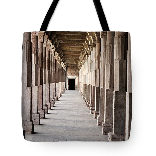 Pillar Hall In The City Of Joy Tote Bag by Four Hands Art
