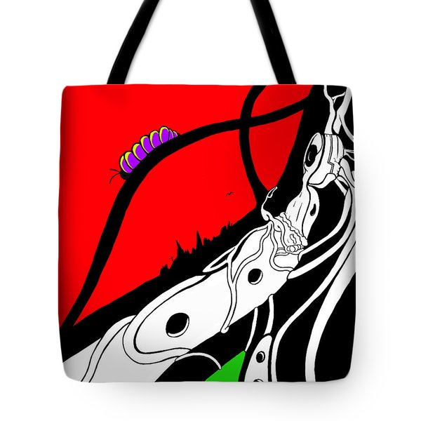 Pillar Of Hope Tote Bag