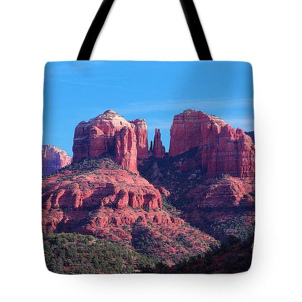 Pillars Of Greatness Tote Bag