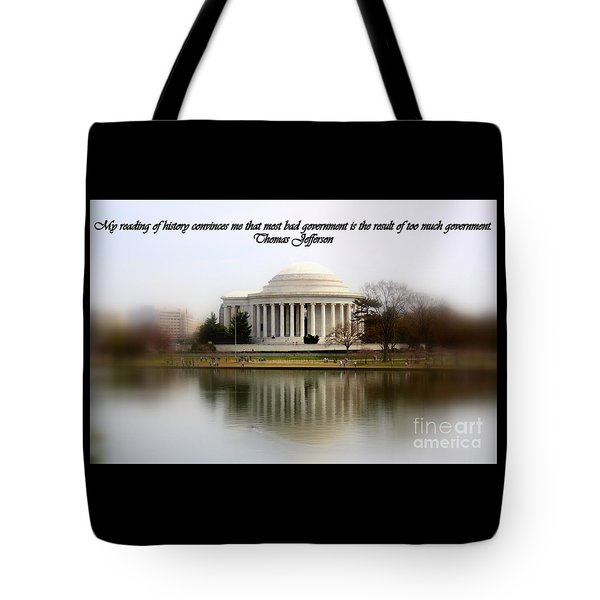 Pillars Of Strength Tote Bag by Patti Whitten