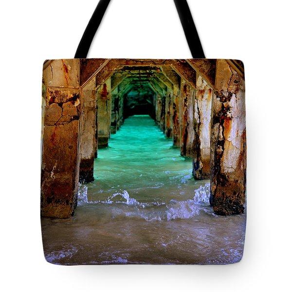 Pillars Of Time Tote Bag