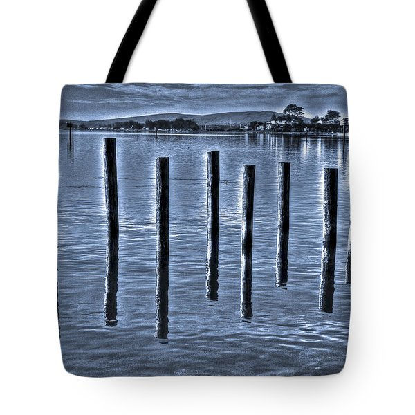 pillars on the Bay Tote Bag