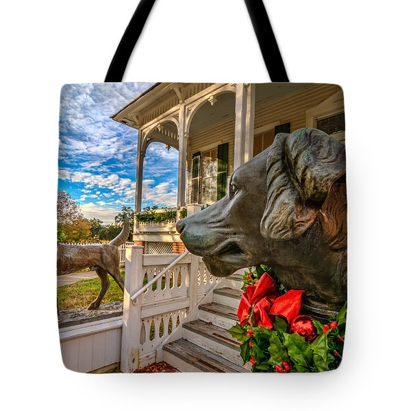 Pillot House Dogs Tote Bag by Tim Stanley