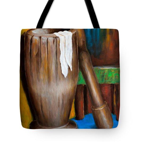 Pilon Tote Bag by Edgar Torres