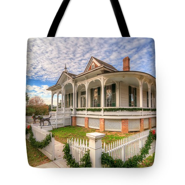 Pillot House Tote Bag by Tim Stanley