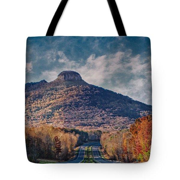 Pilot Mountain Tote Bag