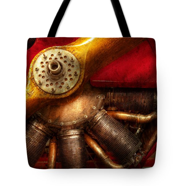 Pilot - Prop - The Barnstormer Tote Bag by Mike Savad