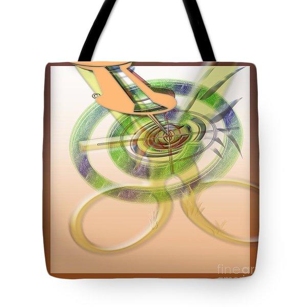 Pin Pointer Tote Bag