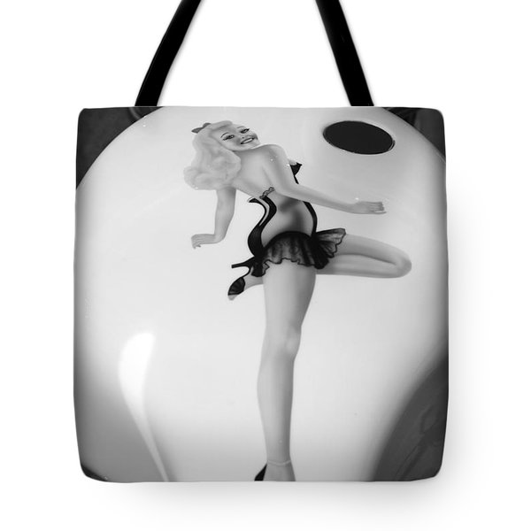 Pin Up Tote Bag by Beverly Stapleton