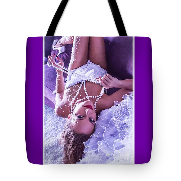 Pin-up Bride Tote Bag