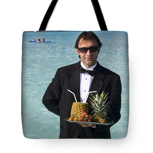 Pina Colada Anyone Tote Bag by David Smith