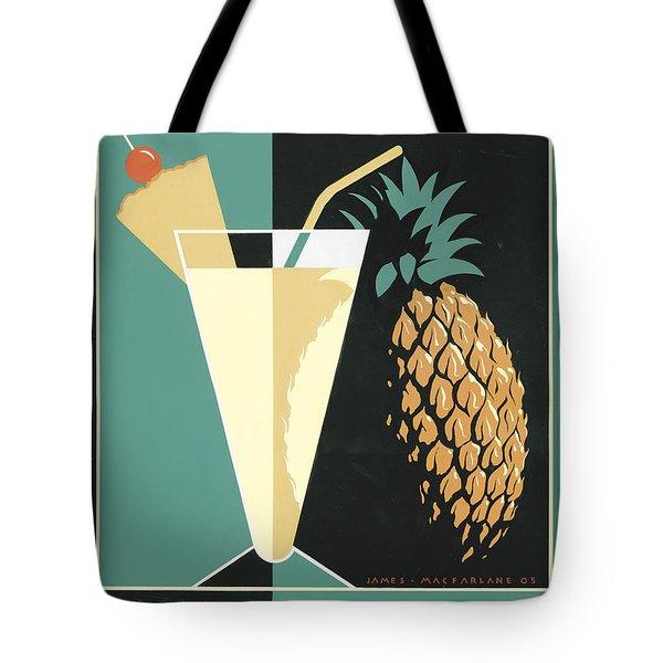 Pina Colada Tote Bag by Brian James