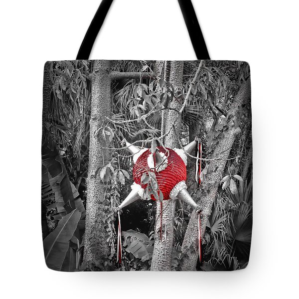 Pinata In Woods Tote Bag by Joan  Minchak
