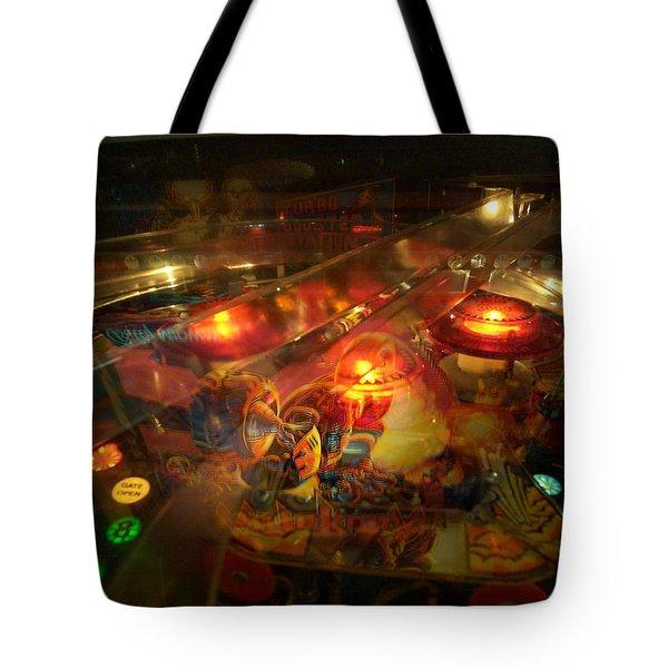 Pinball IIi Tote Bag by Lanita Williams
