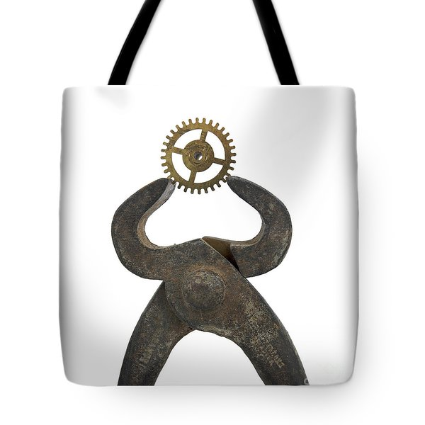 Pincers And Gear Tote Bag