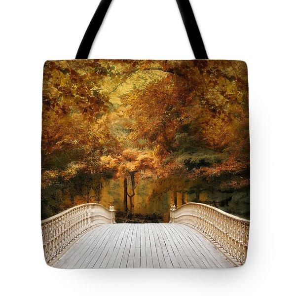 Pine Bank Autumn Tote Bag