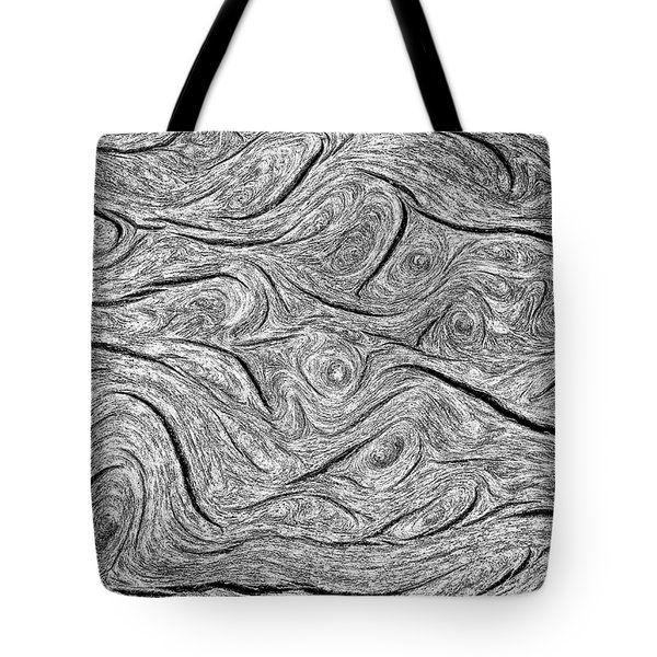 Pine Bark Abstract Tote Bag by Britt Runyon