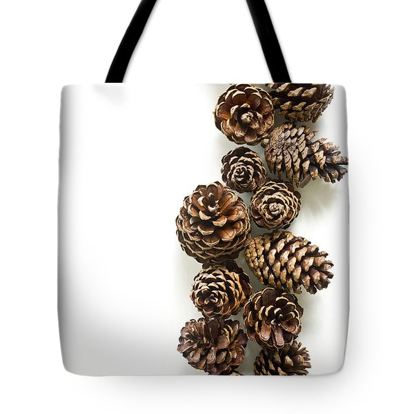 Pine Cones Tote Bag by Edward Fielding