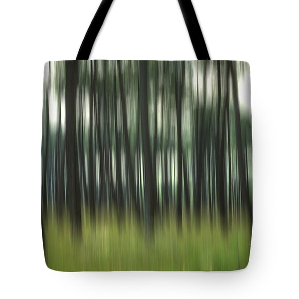 Pine Forest.blurred Tote Bag
