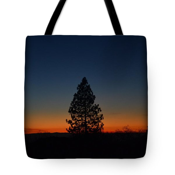 Pine In The Prism Tote Bag
