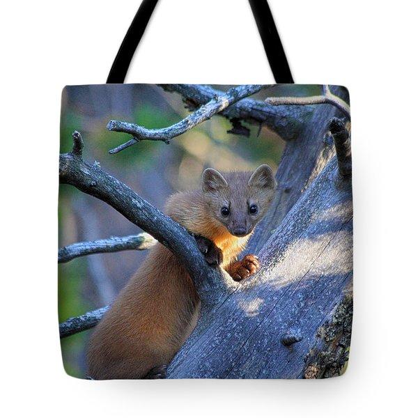 Pine Martin Tote Bag