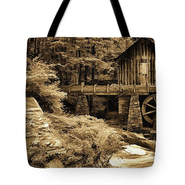 Pine Run Grist Mill Tote Bag by Priscilla Burgers